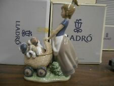 LLADRO LITTER OF FUN PRIVATE COLLECTION RETIRED ISSUED 2001 6X4 3/4 ORIGINAL BOX