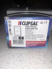 Clipsal Push Button Electronic Timer