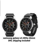samsung galaxy Watch s4 46mm LTE sm-r805u Esim silver+DHL Shipping Included