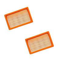2x Filter für KÄRCHER ori.Flachfilter 2.863-005.0 MV 4 5 6 P WD4 Premium