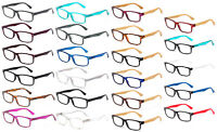 Clear Lens Glasses UV Protected Spring Hinge Classic Simple Design High Quality