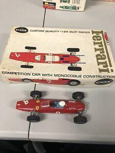 COX Kit Monocoque Design Ferrari  #9400 Formula FOR 1/24 SLOT CARS Fully Built
