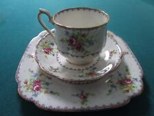 ROYAL ALBERT TRIO CUP/SAUCER/PLATE PETIT POINT CHINA [*2X]