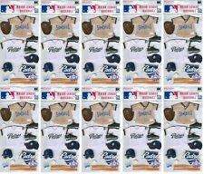 San Diego Padres Uniform Stickers MLB Scrapbook licensed WHOLESALE LOT of 10