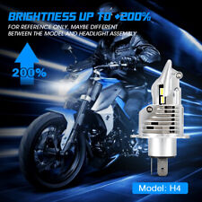 NOVSIGHT H4 LED Bulb 30W 6000LM Replacement HID Hi/Low Beam Motorcycle Headlight