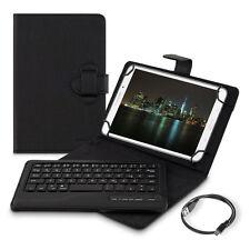 """Kwmobile bolso para tablet 7-8"""" teclado Bluetooth Keyboard imitación cuero protección"""