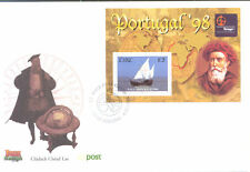 Ireland-Portugal Ship Min sheet First Day Cover-Tall ships