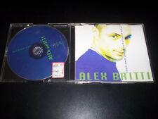 Alex Britti – Solo Una Volta (O Tutta La Vita) CD single Universal 1998