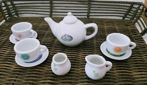 Disney Fairies Tinker Bell & Friends Mini Porcelain Tea Set 10 Pieces
