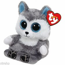 Ty Scout Husky Peek-A-Boo Phone Holder/Screen Cleaner Ty 3+, Boys & Girls