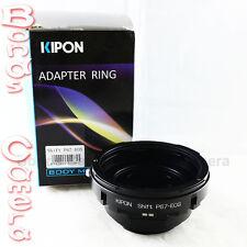 Kipon shift pentax 67 P67 lentille pour canon eos ef mount adaptateur 5d ii iii 6d 70d