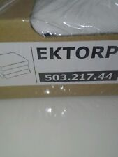 EKTORP Bezug Hocker, Vittaryd weiß503.217.44
