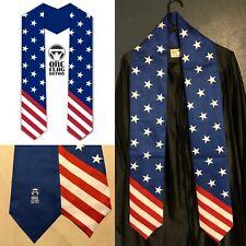 Graduation Stole / Sash - USA US Country Flag