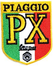 PIAGGIO PX Vespa MOD Shield Scooter Patch Iron on T shirt  Cap Badge Emblem