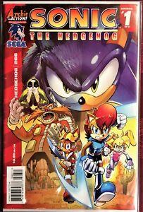SONIC The HEDGEHOG Comic Book #266 January 2015 AMBUSHED Bagged & Boarded NM-
