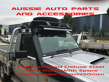 Enclosed Steel Roof Rack 1100mm for Nissan Patrol GQ GU Ute Roof Rack Steel