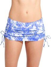NWT Athleta Grenada Scrunch Skirt, Blue Tie Dye, SMALL (S), Swim Beach Surf $59