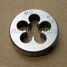 12mm x .75 Metric Right hand Die M12 x 0.75mm Pitch