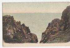 La Gouffre, Guernsey, J. Welch Postcard, M029