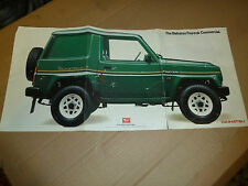 Daihatsu Fourtrack Brochure 1983 year