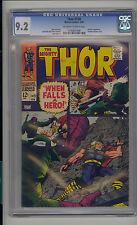Thor #149 CGC 9.2 NM- Unrestored Marvel 2nd Wrecker Inhumans OFF-WHITE/WHITE Pgs