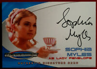 "Thunderbirds The Movie - SOPHIA MYLES, as ""Lady Penelope"" - Autograph Card AC3"