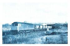 Nostalgia Postcard Coal Train British Rail Class 47, Cronton, Repro Card NS52