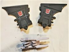 Transformers Hasbro G1 1987 Monsterbot Grotusque Left & Right Wing + Vaporator