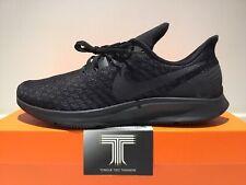 """Nike Air Zoom Pegasus 35 """"Blackout"""" ~ 942851 002 ~ Uk Size 8.5 ~ Euro 43"""