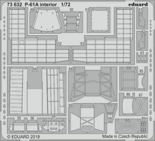 Eduard 1/72 Northrop P-61A 'Black Widow' interior # 73632