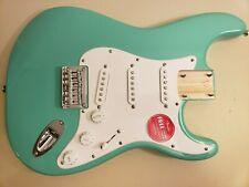 Fender Squier Stratocaster Bullet  Loaded Body...Hardtail Guitar..Sea Foam Green