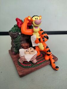 Disney Pooh Stocking Hanger - Tigger Milk And Cookies - 1998 - Great Condition