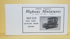 Jordan Miniatures 360-226 1:87 scale 1920 Ford Center Door Sedan
