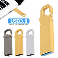 2TB Metal USB 3.0 Flash Drive Memory Stick Pen U Disk Swivel Key Thumb PC Laptop