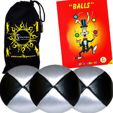 3x Quality Thud Juggling Balls & FREE Booklet - DEAL!
