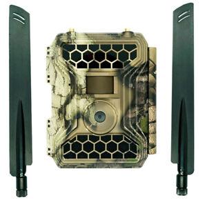 4GLTE Cellular Trail Camera Snyper - Commander 4GLTE - Any Phone - GPS Tracking