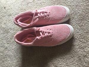 Pink Corduroy Vans Era Skate Shoes Opening Ceremony Size 10.5