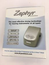 Zephyr by Dry And Store Hearing Aid Dryer Travel & Home Worldwide Use