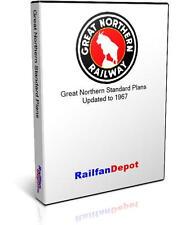 Great Northern Railway Standard Plans Diagrams - PDF on CD - RailfanDepot