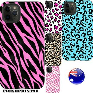Shockproof Case Cover Animal Print Leopard Zebra Cheetah Sexy Colourful Pink Gol