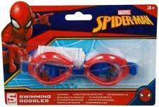 Spiderman Marvel Hero Boys Swimming Goggles Kids Summer Beach Pool Play Fun 3-6