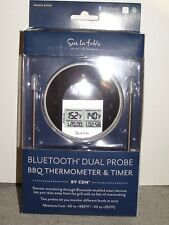 SUR LA TABLE BT482 BLUETOOTH DUAL PROBE BBQ THERMOMETER & TIMER