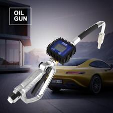 1/2BSP Pistola Travaso Gasolio Benzina Diesel Olio Contalitri Digitale Erogatore