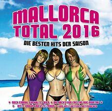 MALLORCA TOTAL 2016 - DIE BESTEN HITS DER SAISON  CD NEU