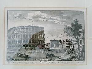 Giuseppi VASI Piazza del Colosseo 33 Original 1747 - 1761 make