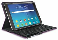 Logitech Type-S Keyboard Case for Samsung Galaxy Tab A 9.7, Black & Violet