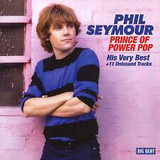 Phil Seymour - Prince of Power Pop His Very Best CD
