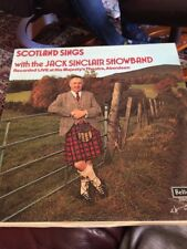 Scotland Sings With The Jack Sinclair Showband LP