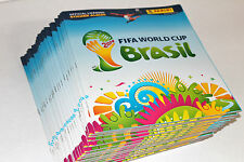 Panini WC WM BRASIL 2014  – 25 x Leeralbum EMPTY ALBUM NOT MINT VGC ED. INTERN.