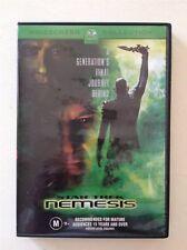STAR TREK NEMESIS  DVD MOVIE (PATRICK STEWART) region 4